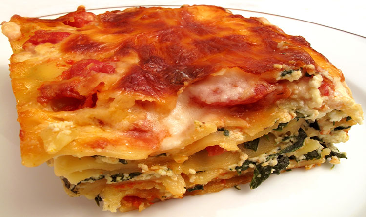 Easy Spinach Lasagna Recipes — Dishmaps