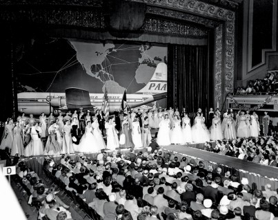 1952 MISS UNIVERSE Finals Night June 28, 1952.